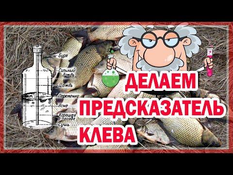 ДЕЛАЕМ ПРЕДСКАЗАТЕЛЬ КЛЕВА&КАК СДЕЛАТЬ ПРЕДСКАЗАТЕЛЬ КЛЕВА