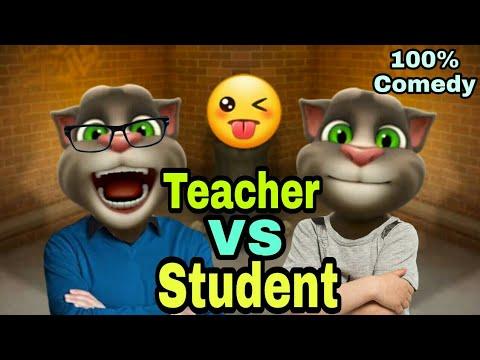 Download A Joke of Teacher VS Student 😜😂 Telugu Mitrudu Talking Tom Comedy Videos