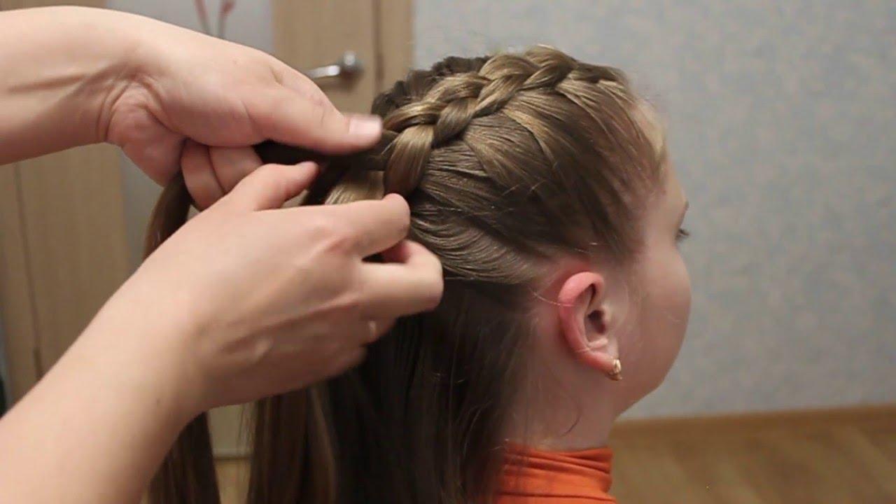 beautiful diagonal braid hairstyles