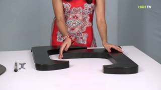 Home&Hearth Replica Noguchi Coffee Table - Video assembly guide