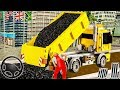 City Road Construction Simulator | Construction Vehicles: Excavator Road Clean | Android GamePlay #2