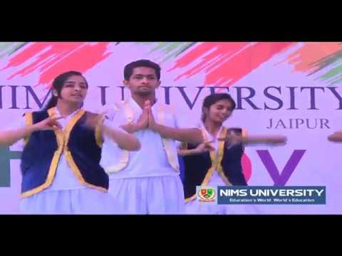 CULTURAL DANCE | NIMS UNIVERSITY JAIPUR | NIMS INTERNATIONAL SCHOOL | DR BS TOMAR