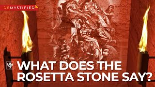 DEMYSTIFIED: What does the Rosetta Stone say? | Encyclopaedia Britannica