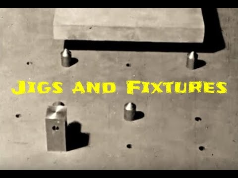 Jigs and Fixtures  for Machine Shops - Educational Video