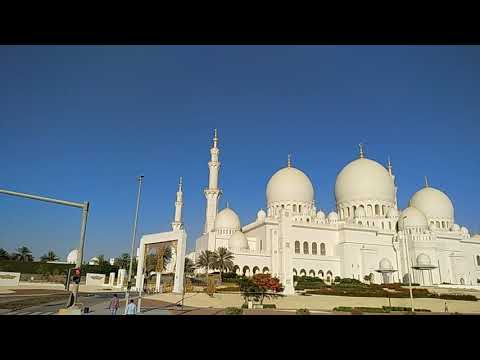 Grend mosques in Abu Dhabi 2018
