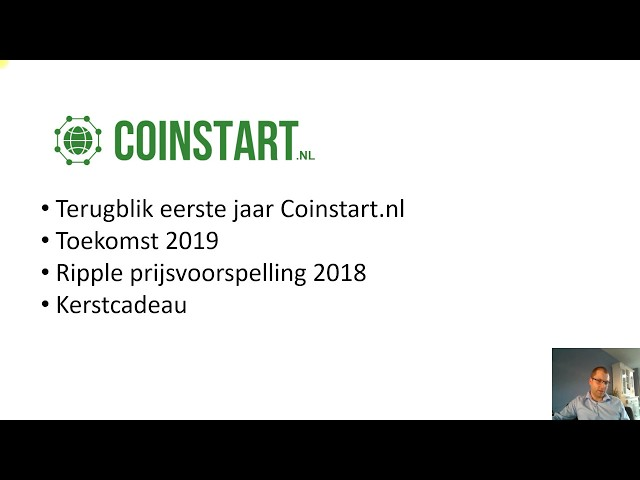 Gratis Ripple - Coinstart eindejaarsvideo!