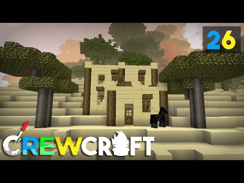 Crewcraft Minecraft Server :: Operation Sand Saver! E26