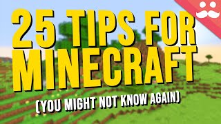 25 More Tips for Minecraft you might not know