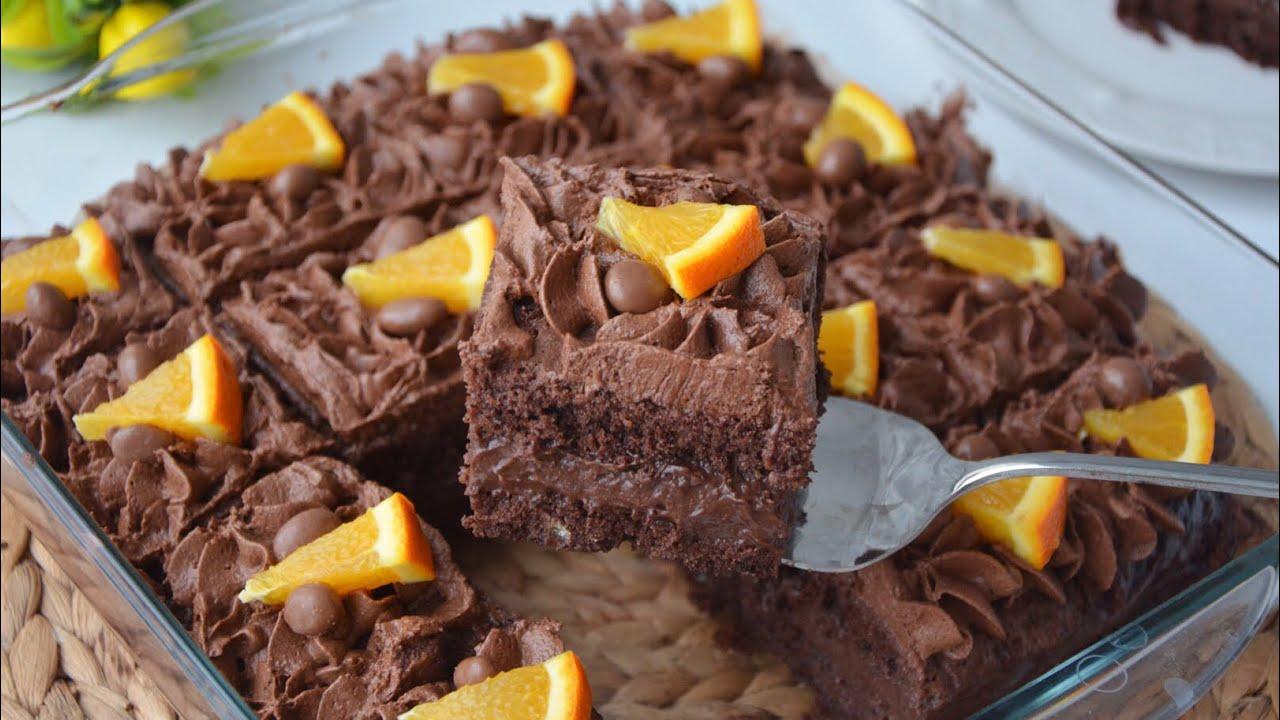 Bu Pasta Denenme Rekorları Kırar ll Çikolatalı Krem Şantili ll Kaptanın Eşi