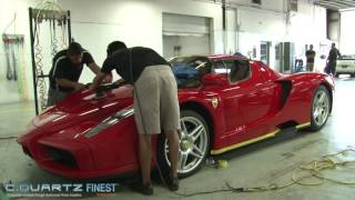 Ferrari Enzo | Paint Correction | Ceramic Coating | High-end Detailing | Cquartz Finest