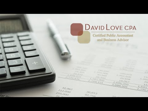 Charlotte Small Business Tax Services - David Love CPA
