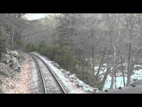 Western Maryland Cab Ride, Tygart Junction to Elkins Depot, Part 1