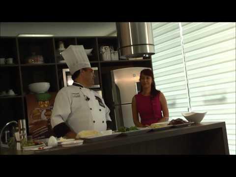 Chef  Fernando Paes entrevista com Rosana Scott