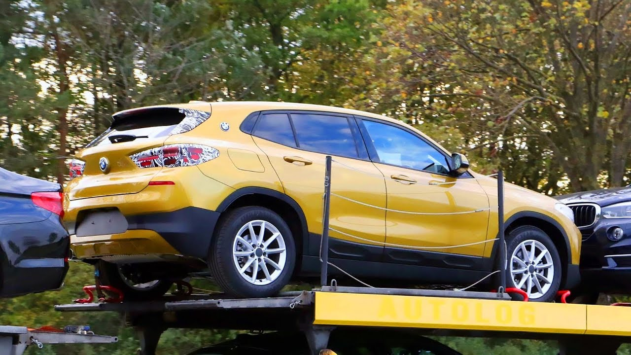 2018 bmw x2 with almost no camouflage youtube. Black Bedroom Furniture Sets. Home Design Ideas