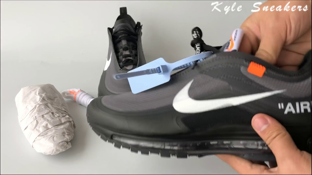 best service f0b22 934e1 The 10  UA Off White x Air Max 97 OG Black Unboxing Review-Kyle Sneakers