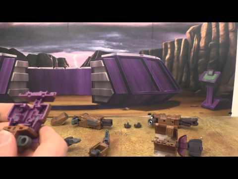 Transformers repair bay: Warbotron Air Burst chest fix