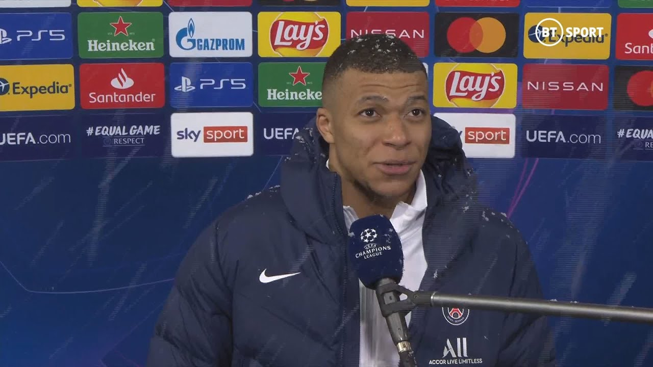 """I love to play against the best in the world!"" Kylian Mbappe on facing Manuel Neuer 🎯"
