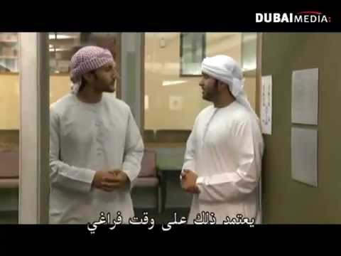 EMIRATI TV PRESENTERS - with Omar Butti
