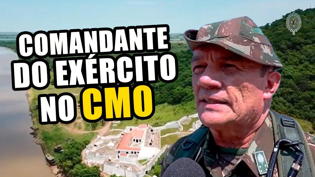 Comando Militar do Oeste recebe visita do Comandante do Exército   Exército Notícias   CMO
