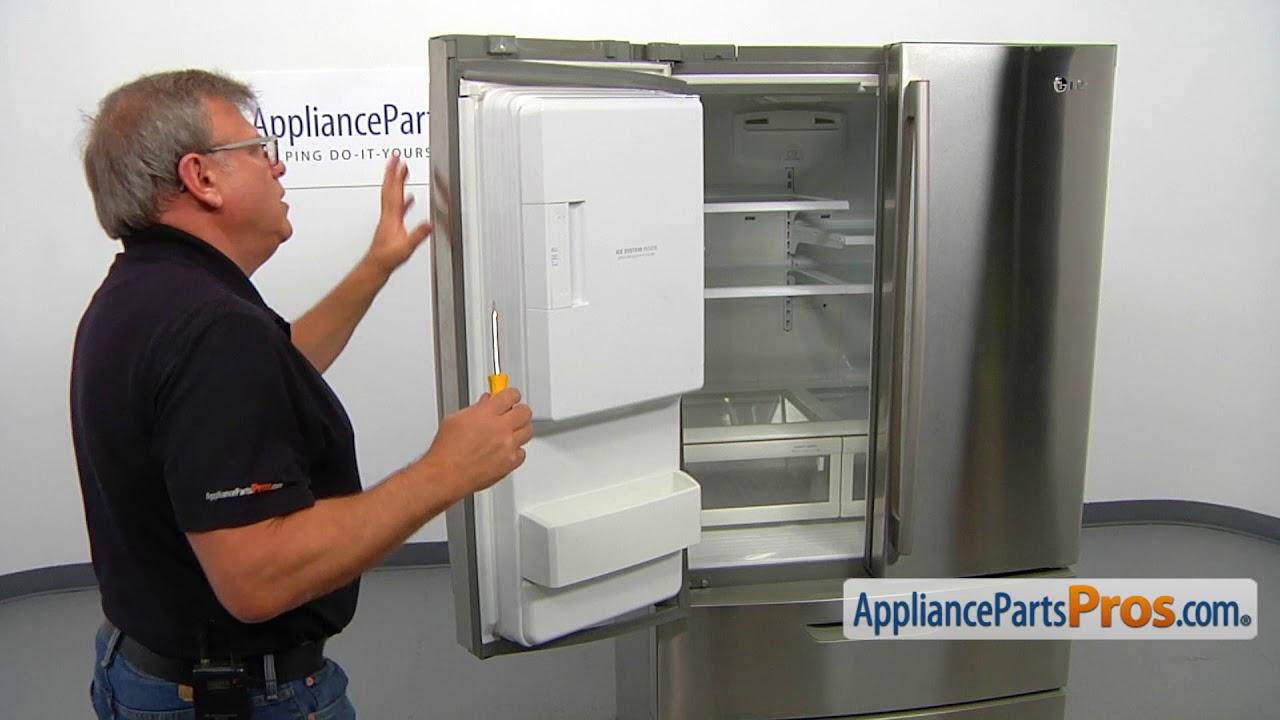 How To Lg Kenmore Refrigerator Door Gasket 4987jj2002t Youtube