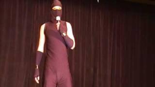 Anime LA '10 Masquerade 16: Ninja Stand-Up Comedy