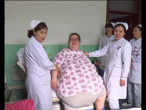 China's heaviest woman gets surgery to slim down 244-kg frame
