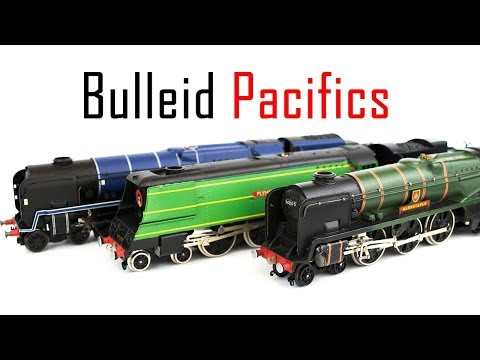A Day With Bulleid Pacific Locomotives