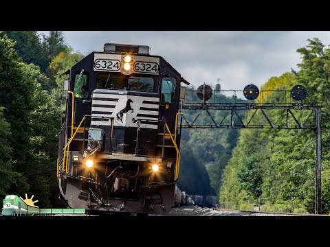 4K: Maryland & Pennsylvania Railfanning (HD 60fps)