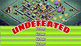 UNDEFEATED BUILDER HALL 8 BASE LAYOUT w/PROOF| CoC BEST Bh8 Base Design 2018 | Clash of Clans