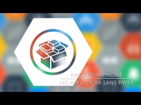 Les appli de cydia gratuitement avec hackyouriphone