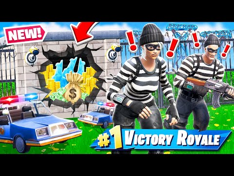 Fortnite JAILBREAK Protect the LLAMA *NEW* Game mode in Fortnite Battle Royale thumbnail