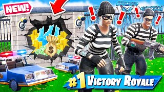 Fortnite BANK HEIST Protect the LLAMA *NEW* Game mode in Fortnite Battle Royale