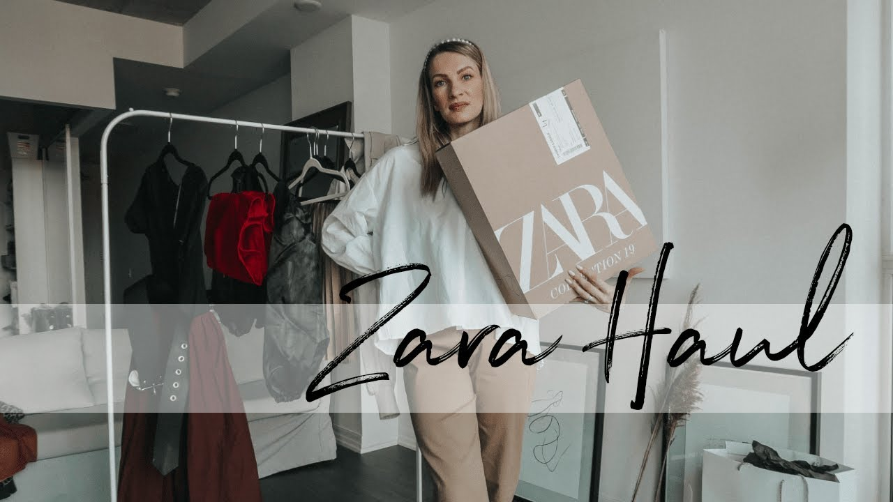 [VIDEO] - ZARA FALL HAUL | 10 OUTFITS FOR WORK & PARTIES | MON MODE 7