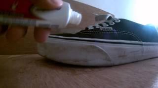 TIP & TRIK - Membersihkan & Memutihkan Sepatu Vans etc.
