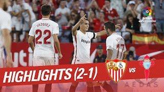 Resumen de Sevilla FC vs RC Celta (2-1)