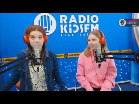 """В гостях на RADIOKIDSFM RIGA - полуфиналистка шоу """"Мастер Шеф дети"""" /26.04.2017/"""