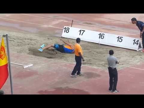 Men's Triple Jump . National Open Athletics Championships-2014. New Delhi