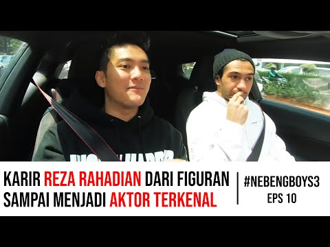 Reza Rahadian NANGIS GARA-GARA Boy William! - #NebengBoyS3 Eps.10
