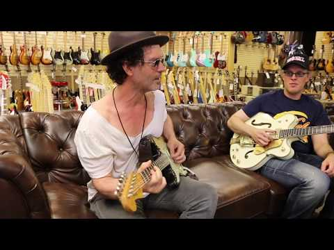 Joe Bonamassa & Doyle Bramhall II on the couch with Norm at Norman's Rare Guitars Mp3