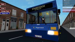 Hettingthorpe Bus Simulator V2 on Roblox on route PR to Manchester Road Park and Ride