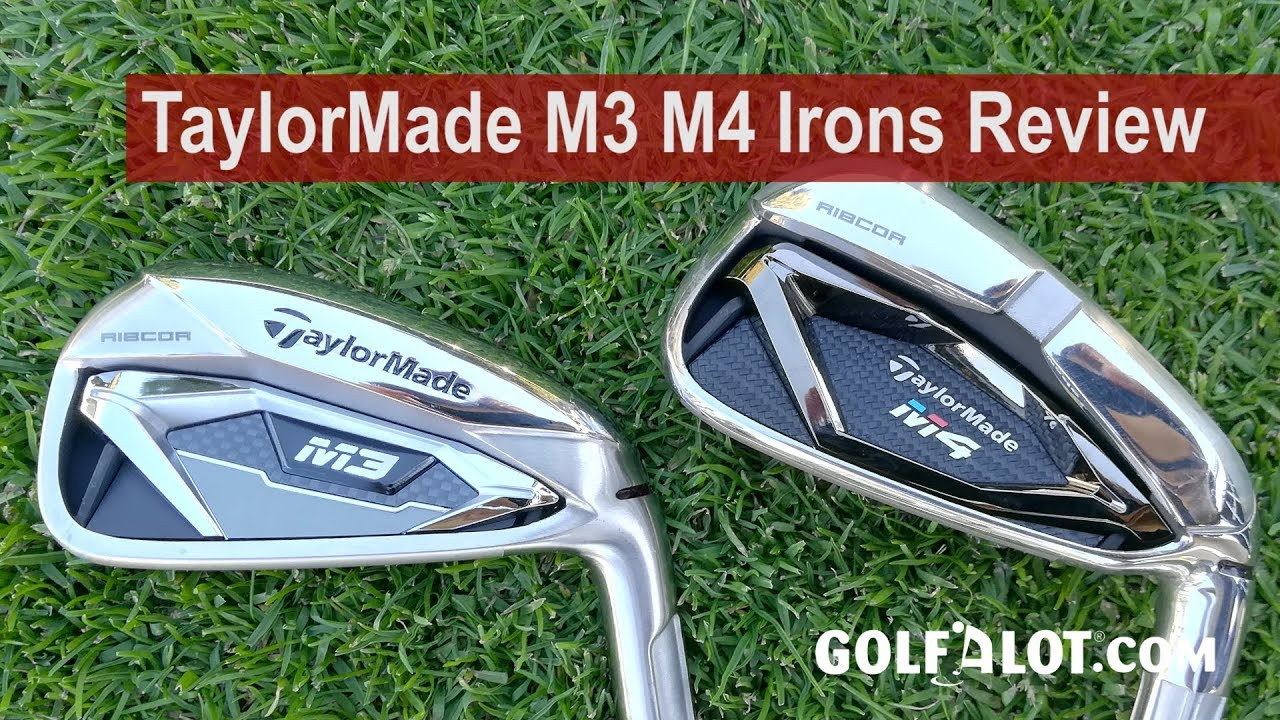 TaylorMade M4 Irons Review - Golfalot