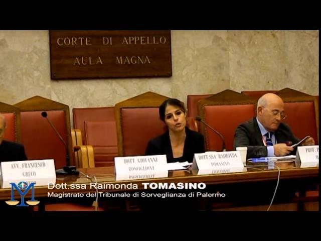 MEG Onlus Dott. Raimonda Tomasino - La tutela penale nel diritto dell'unione europea