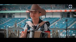 Conoce a Israel Morales, un Rayado con gusto por la música e interprete del Chotis Monterrey.