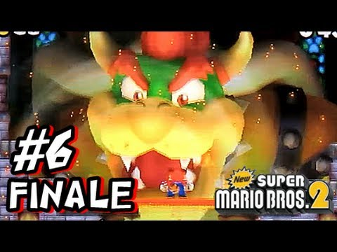New Super Mario Bros 2 3DS - Part 6 FINALE World 6 - YouTube