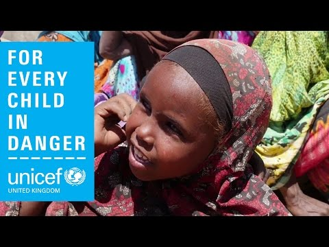 Children and families have to leave everything behind in drought-affected Somalia