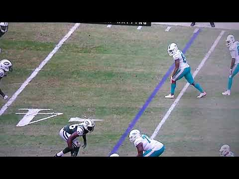 TE JULIUS THOMAS GREAT ONE HANDED CATCH