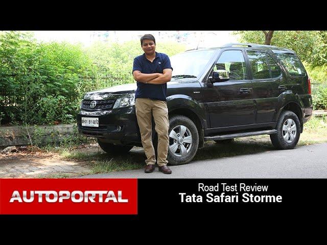 Tata Safari Storme 2015 Test Drive Review - Autoportal