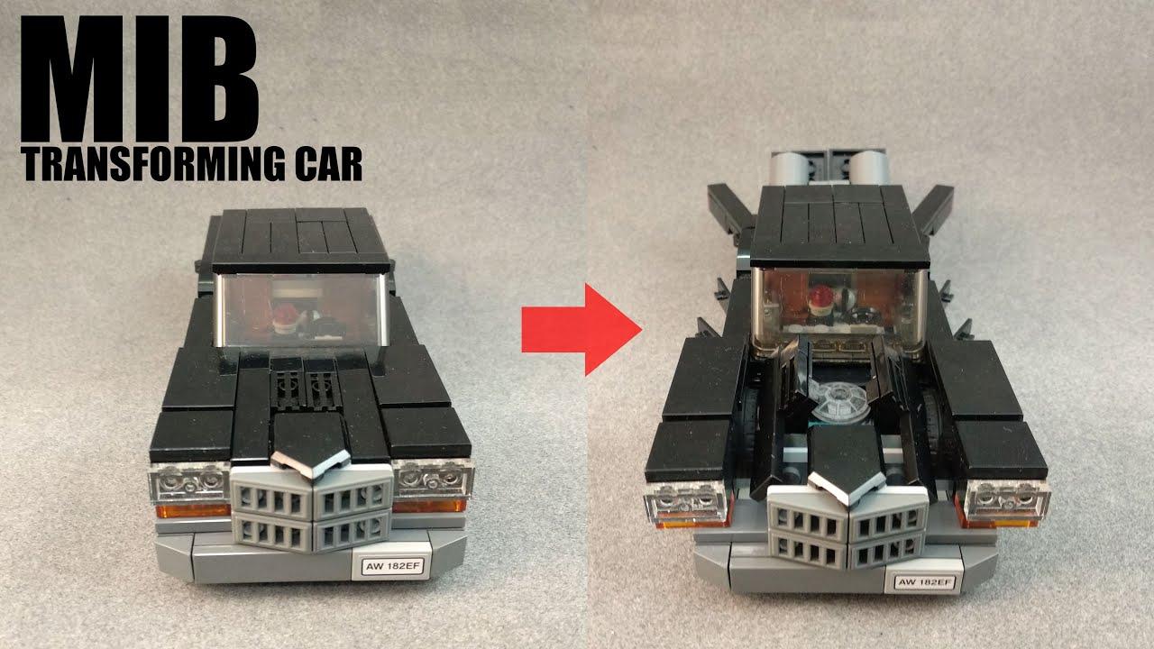 Lego Showcase Men In Black Transforming Car Version 2
