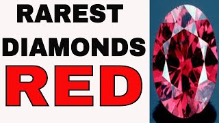 Red Diamonds and Purple Red Diamond by Peter-John Parisis, G.G.