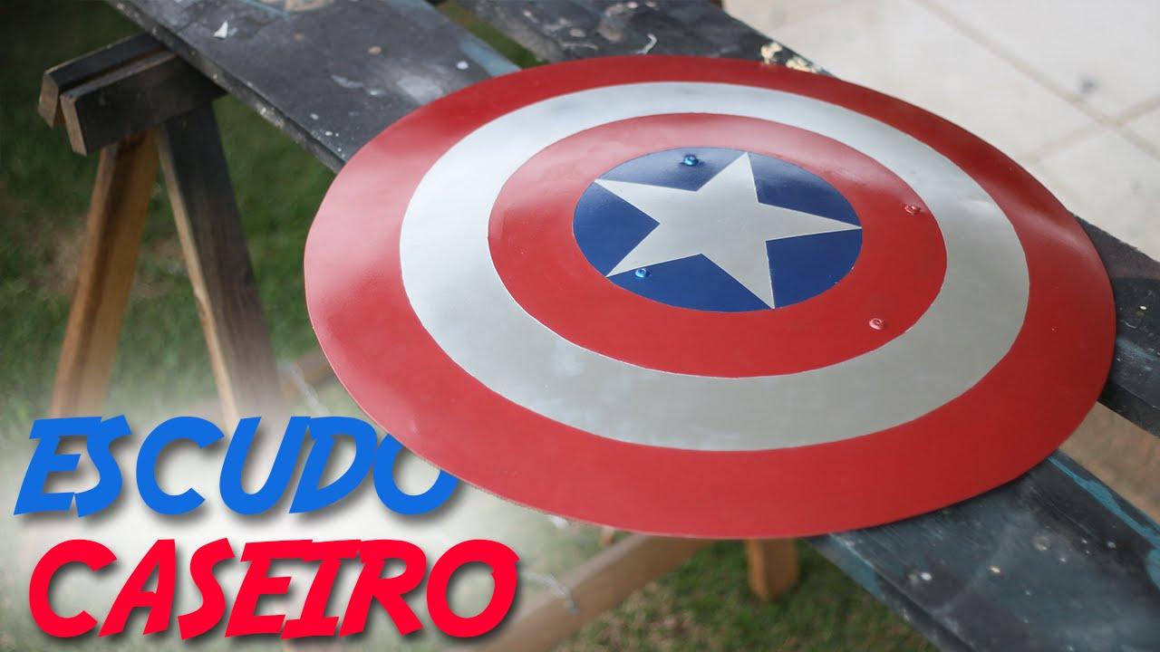 c43dc3aa2d5 Como Fazer o Escudo do Capitão América - YouTube